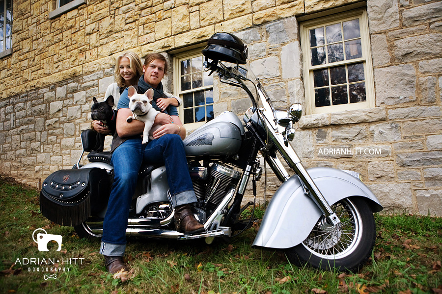 French Bulldog Motorcycle Dog Photographer Nashville, TN Adrian Hitt