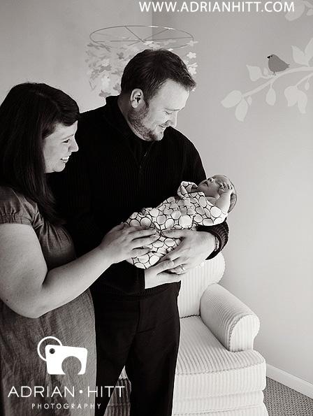 Newborn photographer Nashville, TN Adrian Hitt